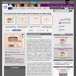 La construction des écoles dans la Somme au XIXe siècle