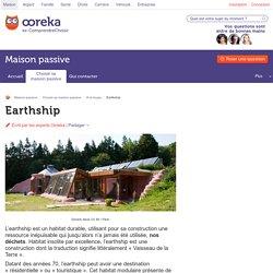Earthship : construction écologique - Ooreka