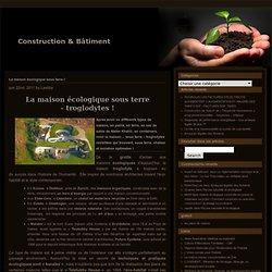 Blog Archive » La maison écologique sous terre !