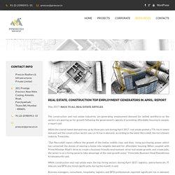 Real estate construction top employment generators