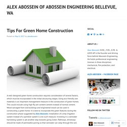 Alex Abossein of Abossein Engineering Bellevue, WA