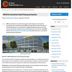 BIM 4D for Construction Project Planning and Execution