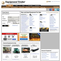 Construction Equipment, Farm Equipment & Heavy Equipment on Equipment Trader