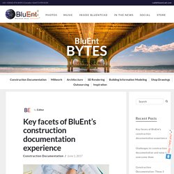 BluEnt creates a precise set of construction documents that help them to exceed their client's expectations