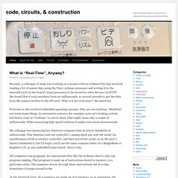 code, circuits, & construction | code and fabrication resources for physical computing and networking