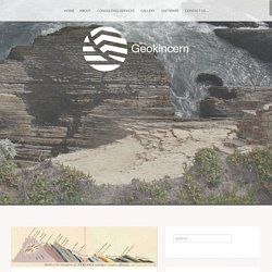 Construction of geological cross sections in QGIS