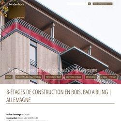 Allemagne - Binderholz GmbH - Holzindustrie - Fügen, Zillertal