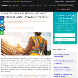 Construction Safety Investment: An Ethical and Lucrative Decision