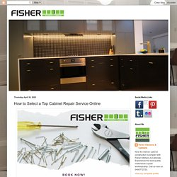 How to Select a Top Cabinet Repair Service Online