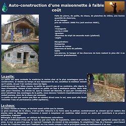 Terrien t'es pas rien ! - AUTO-CONSTRUCTION D'UNE MAISONNETTE