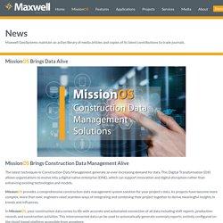 MissionOS brings Construction Data Management alive