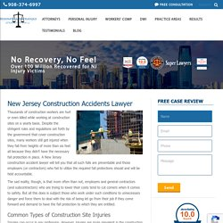 New Jersey Construction Accidents Lawyer- Dan T. Matrafajlo