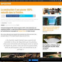 La construction d'une piscine 100% naturelle dans le Finistère.