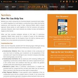Construction Lawyer Calabasas