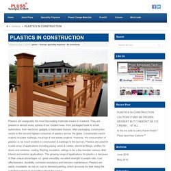 PLASTICS IN CONSTRUCTION - PlussPluss