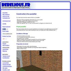 Construction d'un poulailler - BeBeLiOuS.FR