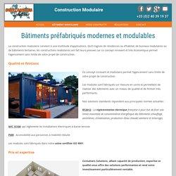 Container habitable : Construction de bâtiments préfabriqués modulables