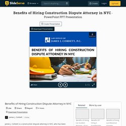 Benefits of Hiring Construction Dispute Attorney in NYC