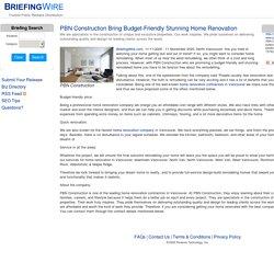 PBN Construction Bring Budget-Friendly Stunning Home Renovation