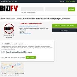 Building Contractors Wales