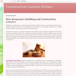 Hire Responsive Building and Construction Lawyers