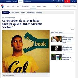 """Construction de soi et médias sociaux: quand l'intime devient """"extime"""""""