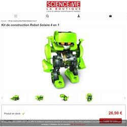 Kit de construction Robot Solaire 4 en 1 - La Boutique Science & Vie