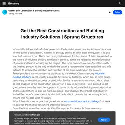 Get the Best Construction and Building Industry Solutions