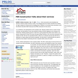 PBN Construction Talks about their services