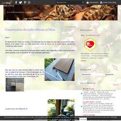 Construction du cadre témoin et bilan - les abeilles de Lifou