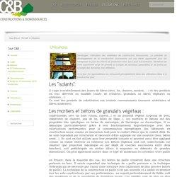 Constructions et Bioressources