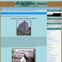 Pyramides et constructions cyclopéennes en Italie Part 1