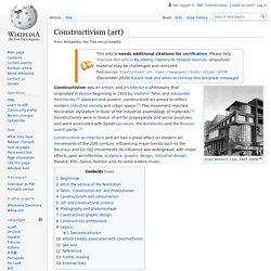 Constructivism (art)