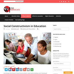 Social Constructivism in Education