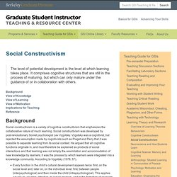 GSI Teaching & Resource Center