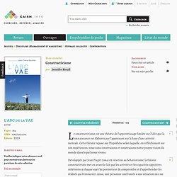 Constructivisme - cairn.info
