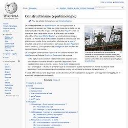 Constructivisme (épistémologie)