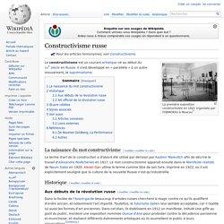 Constructivisme russe