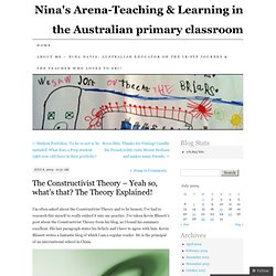 Nina's Arena-Teaching & Learning in the Australian primary classroom