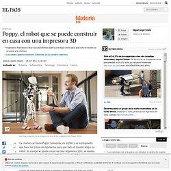 Poppy, el robot que se puede construir en casa con una impresora 3D