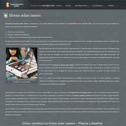 Cómo construir un horno solar casero - Materiales, planos y consejos