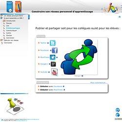 Construire son réseau personnel d'apprentissage - Publier/partager