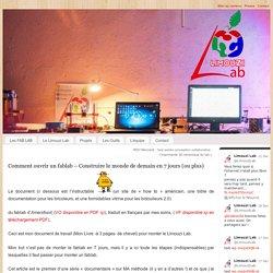 Comment ouvrir un fablab – Construire le monde de demain en 7 jours (ou plus) - Association Limouzi - Agitateur de créativité locale