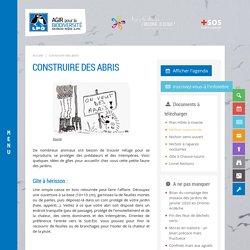 Construire des abris - LPO Drôme (Ligue pour la Protection des Oiseaux)