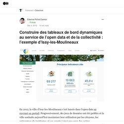 Construire des tableaux de bord dynamiques au service de l'open data et de la collectivité : l'exemple d'Issy-les-Moulineaux