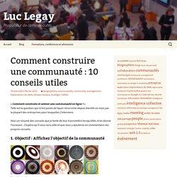 » Comment construire une communauté: 10 conseils utiles RU3