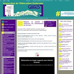 IEN St Gervais / Pays du Mont-Blanc - Explorer sa pensée et construire ses connaissances en écrivant.