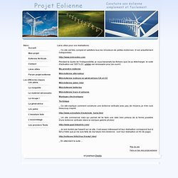 Construire une éolienne - Fabriquer une eolienne à axe vertical