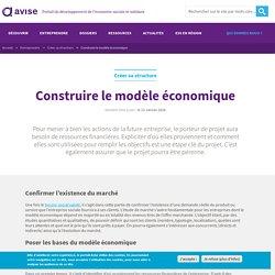Construire le modèle économique