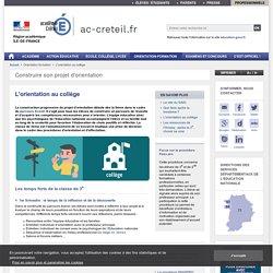 Construire son projet d'orientation - ac-creteil.fr